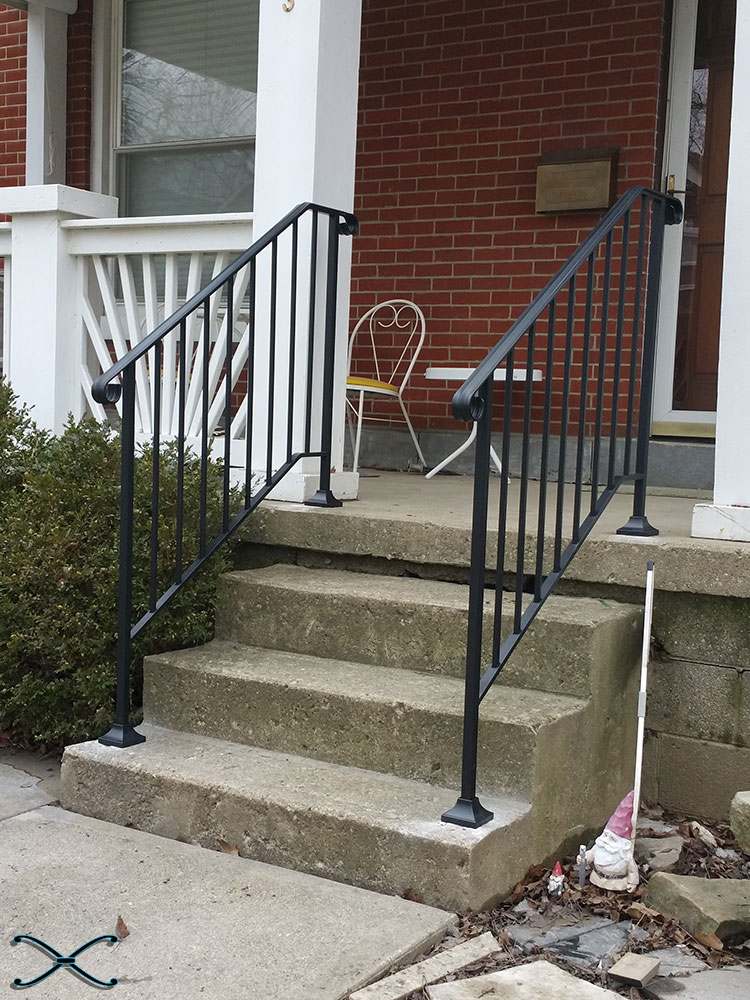 Picket 3 Diy Handrail Kit Spans Three Stair Risers