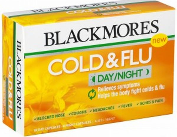 Cold and Flu Day/Night
