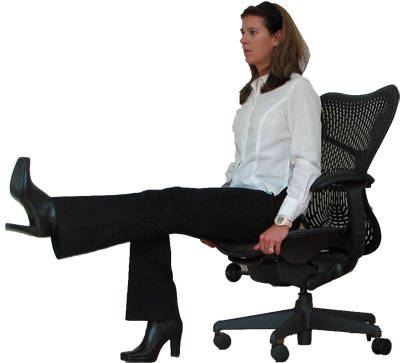 do some secret exercises sitting on the office chair image title hw6wm
