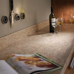 Breakfast Bar Kitchen Corner Nook Amber Kashmir Prima Formica Laminated Worktop