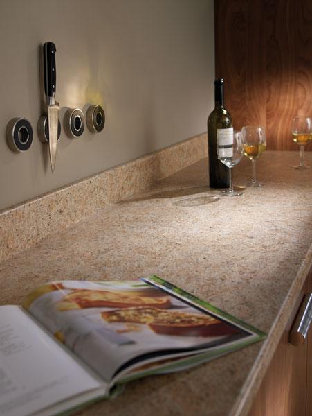 breakfast bar kitchen indoor grill amber kashmir prima formica laminated worktop