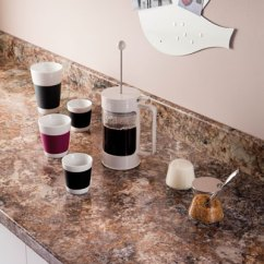 Kitchen Bar Ideas Under Mount Sink Antique Mascarello Prima Formica Laminated Worktop