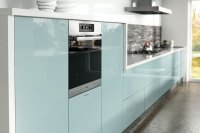 Ultragloss Metallic Blue - Kitchen Door - Custom Made Kitchens