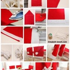Christmas Elf Chair Covers Best Big And Tall Desk Chairs Diy Santa Do It Your Self