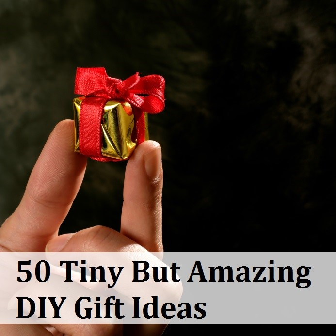 50 Tiny But Amazing Gift Ideas
