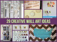50 Beautiful Diy Wall Art Ideas For Your Home | Rachael ...