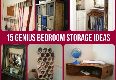 Bedroom Storage Ideas Diy