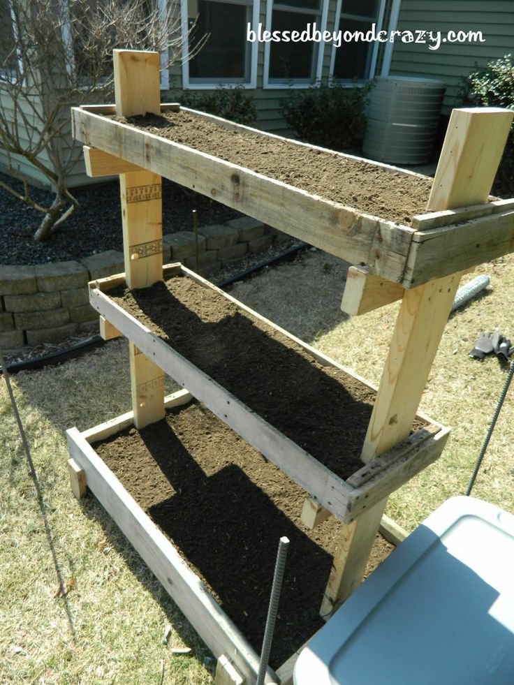 Simple Raised Planter Box