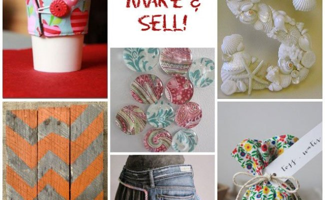 42 Craft Ideas To Make Sell