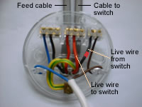 2 Way Switch Wiring Diagram Fig 1 Two One Way Lighting Loop In