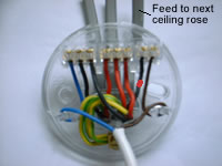3 Gang Schematic Wiring One Way Lighting Loop In