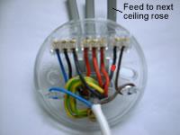 light wiring diagram loop electric water one way lighting in ceiling rose