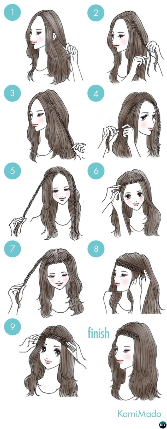 3-minute easy busy morning hairstyles