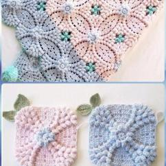 Crochet Granny Square Diagram Photosynthesis And Cellular Respiration Pearl Flower Popcorn Motif Free Patterns