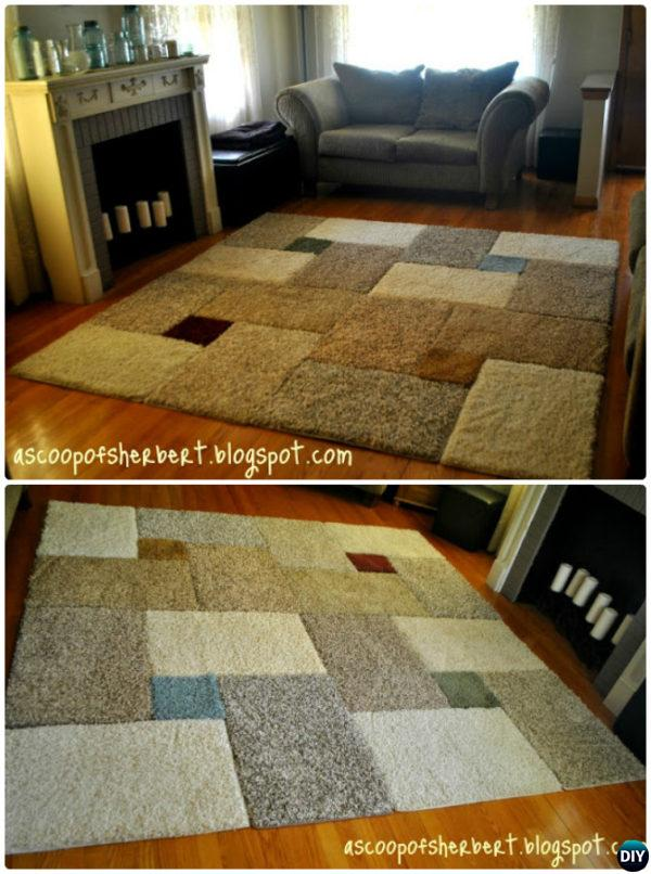 20 No Crochet DIY Rug Ideas Projects Instructions