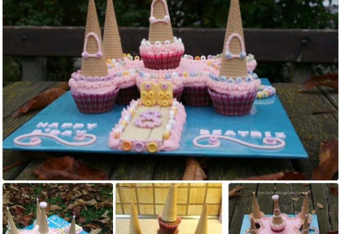 Diy Castle Pull Apart Cupcake Cake 20 Gorgeous Pull Apart Cupcake