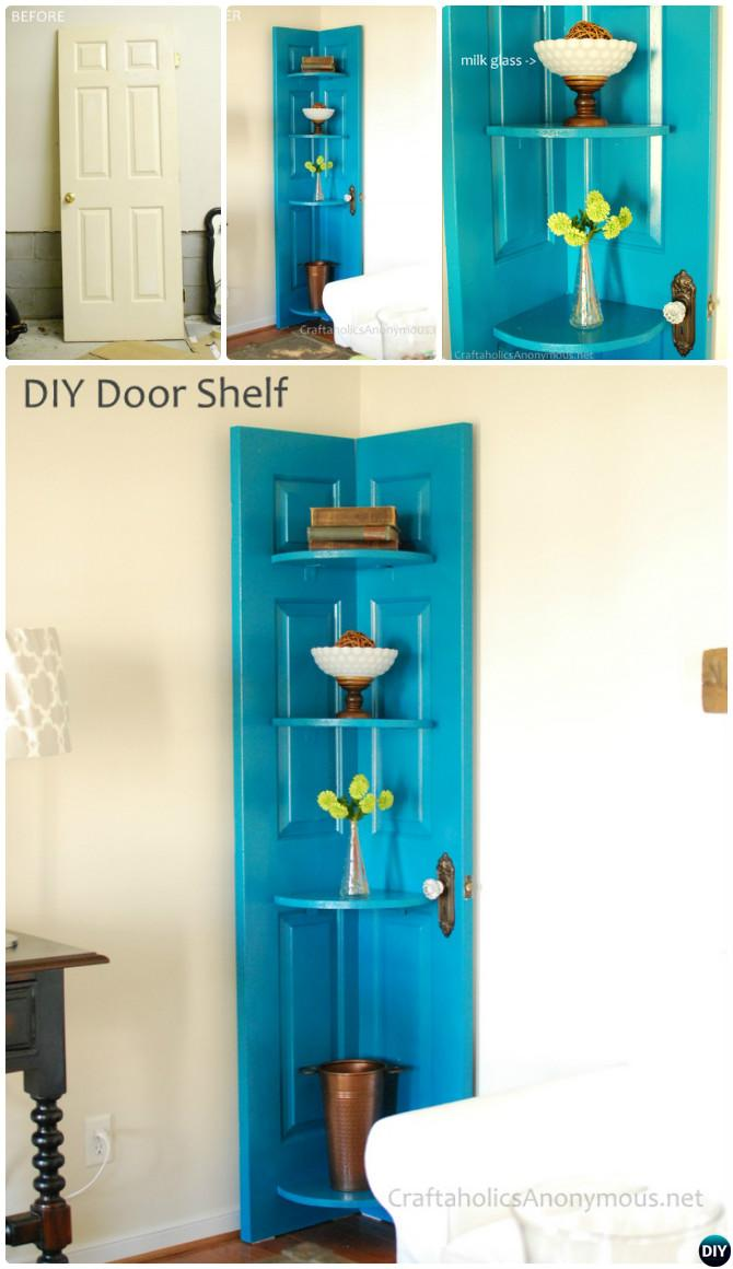 Unexpected Ways to Repurpose Old Doors Into New Furniture
