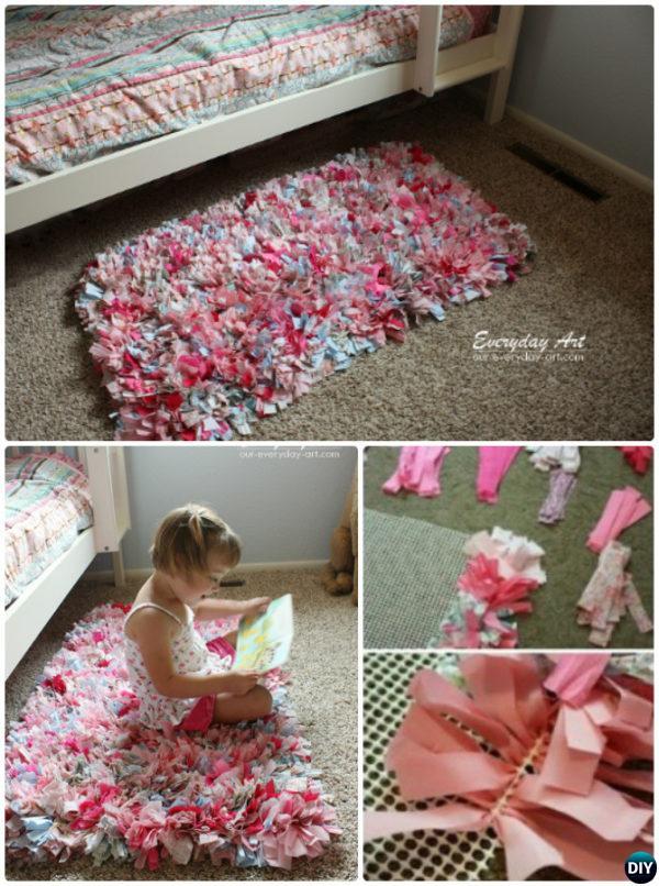 20 No Crochet DIY Rug Ideas Projects Instructions