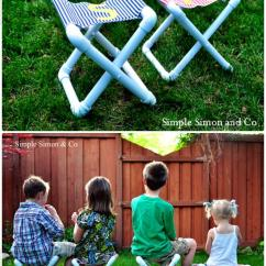 Personalized Camping Chairs Beauty Salon For Sale 20 Pvc Pipe Diy Projects Kids Fun