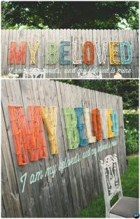 Backyard Fence Decorating Ideas | Outdoor Goods