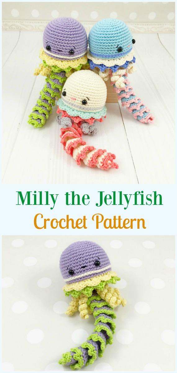 Pattern Free Jellyfish Amigurumi Crochet