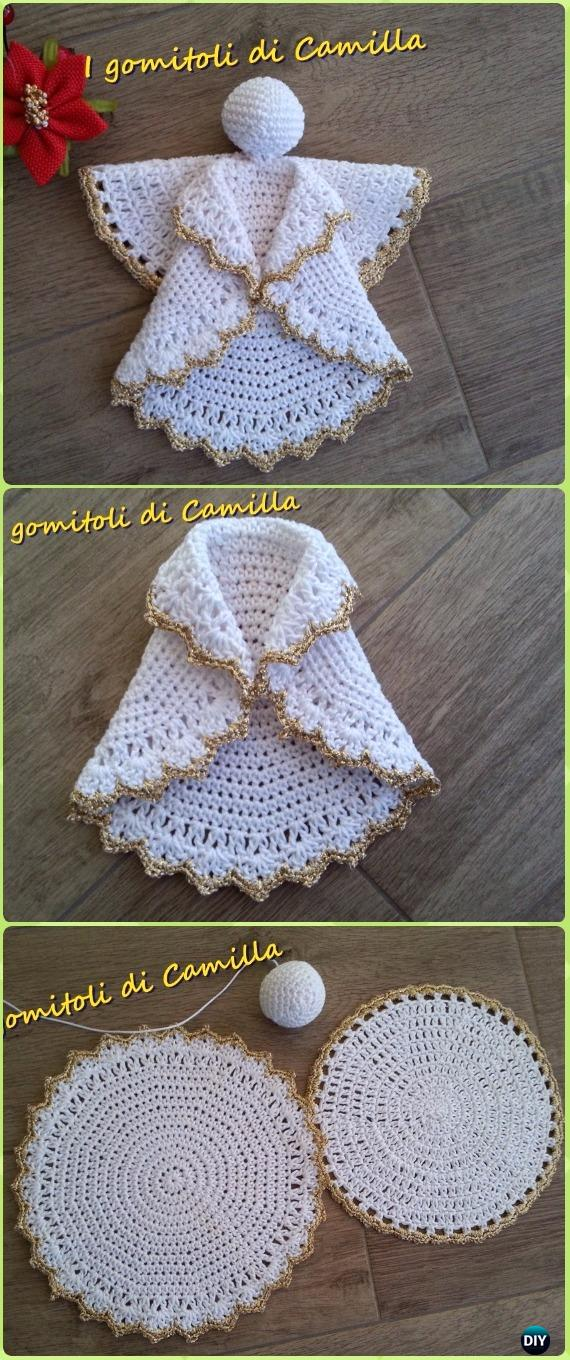 Crochet Angel Free Patterns  Tutorials