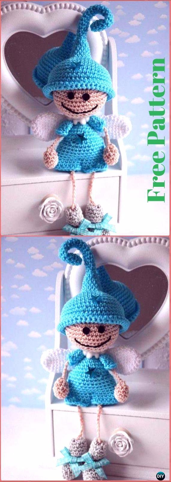 crochet angel free patterns