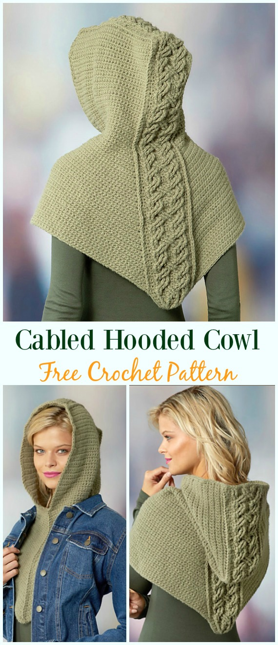 Crochet Infinity Scarf Cowl Neck Warmer Free Patterns