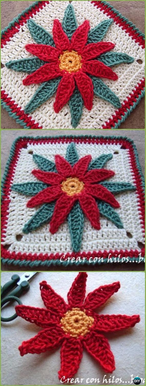 Crochet Granny Square Free Patterns