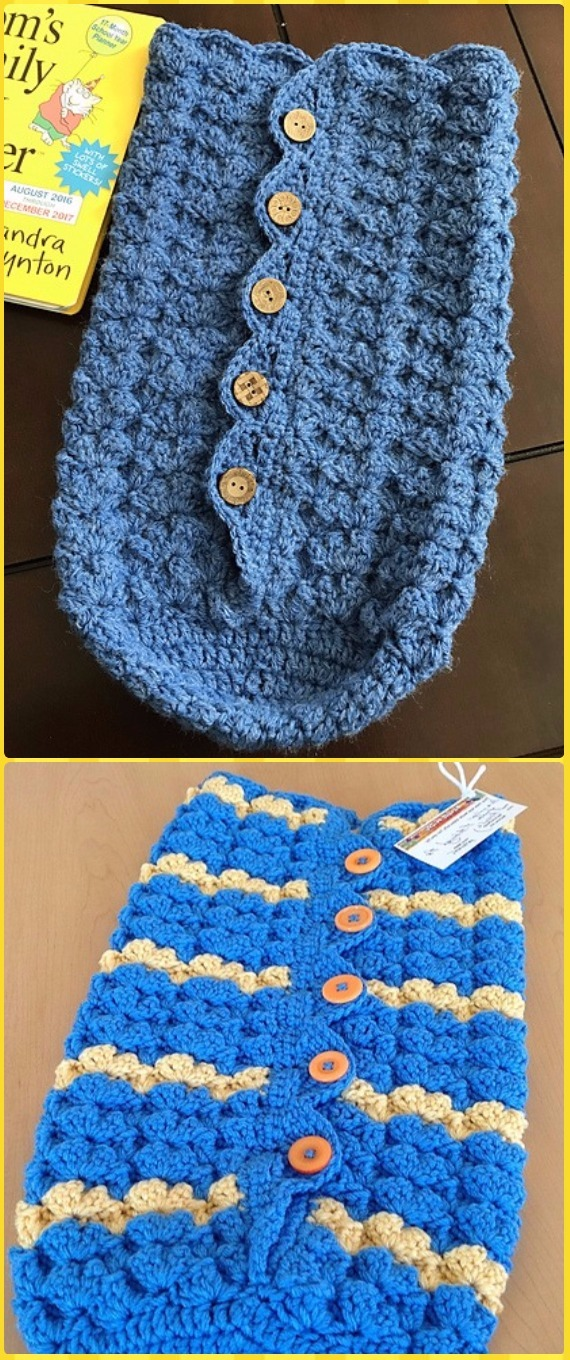 Crochet Snuggle Sack Amp Cocoon Free Patterns Amp Tutorials