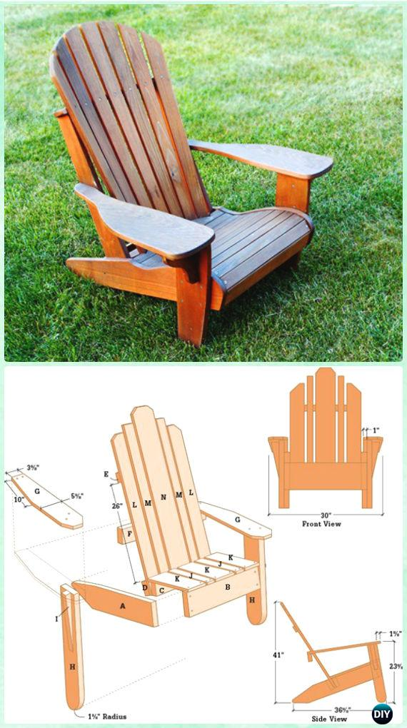 plans for adirondack chair fold out diy free instructions cedar