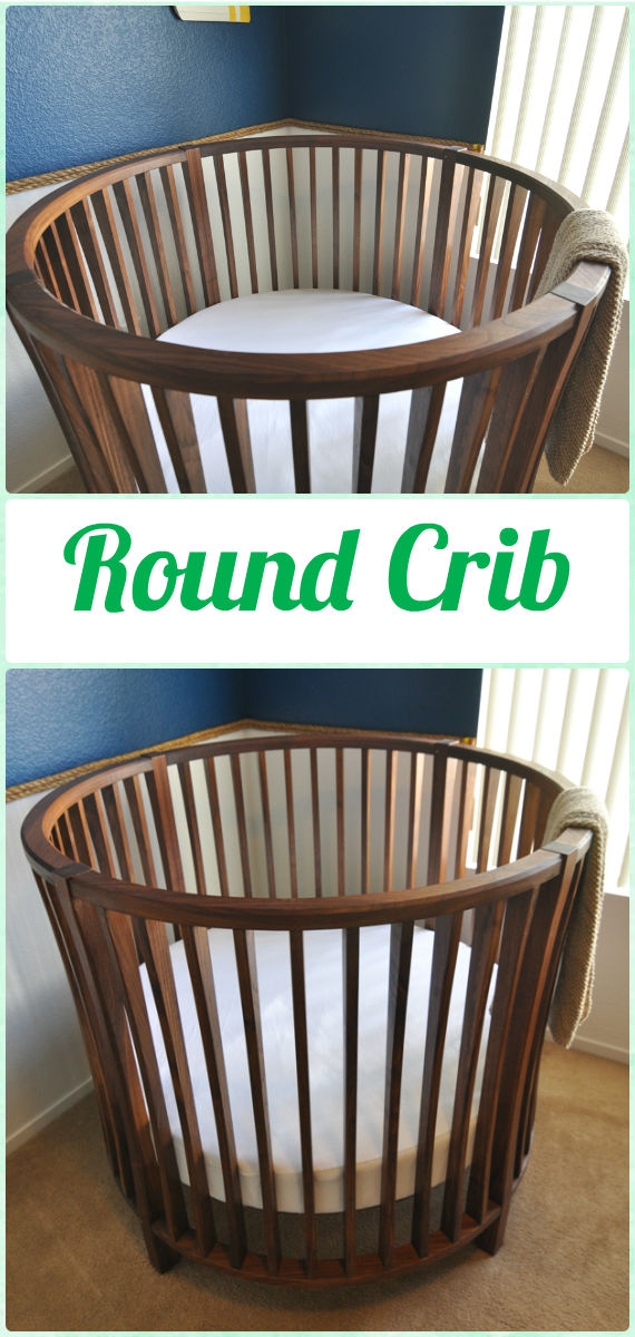 DIY Baby Crib Projects Free Plans  Instructions