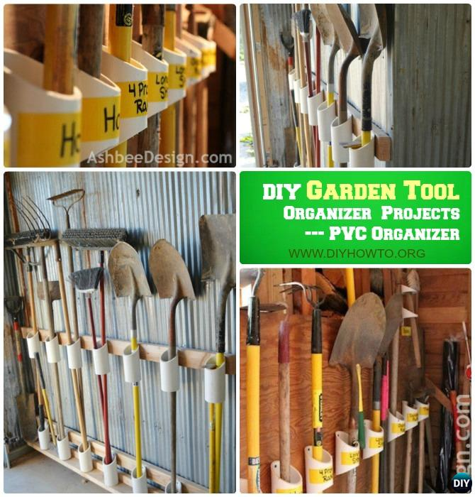 Garden Tools Storage Ideas
