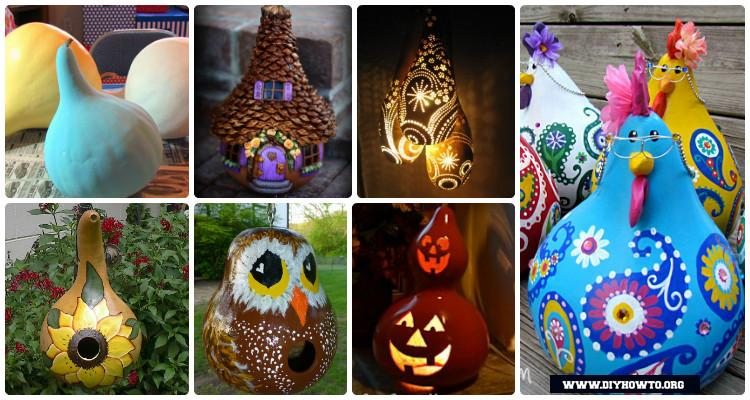 5 DIY Gourd Craft Projects That Are Beyond Your Thinking