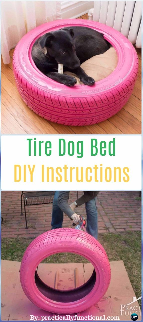 DIY Recycled Old Tire Furniture Ideas  Projects for Home