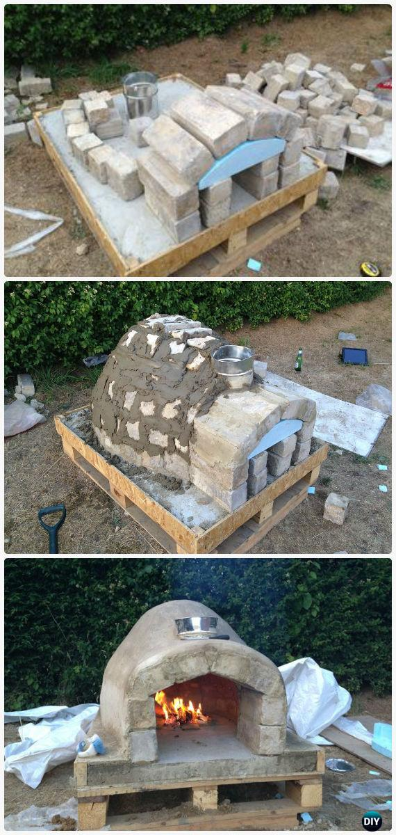 DIY Outdoor Pizza Oven Ideas  Projects Instructions