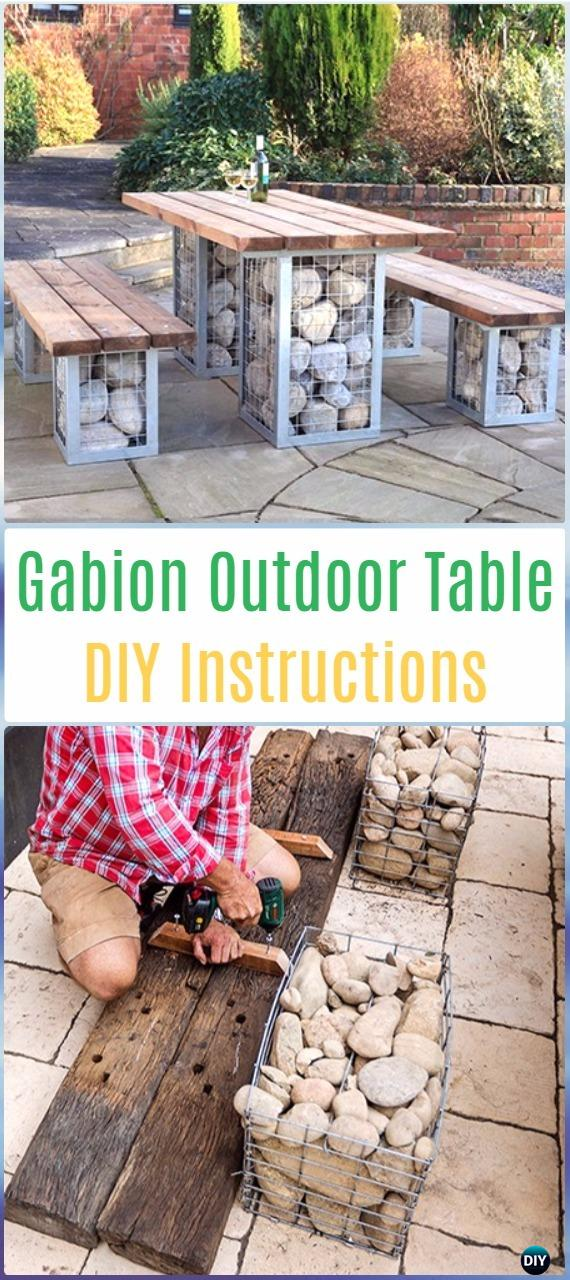 Diy Outdoor Table Ideas Amp Projects Free Plans Instructions