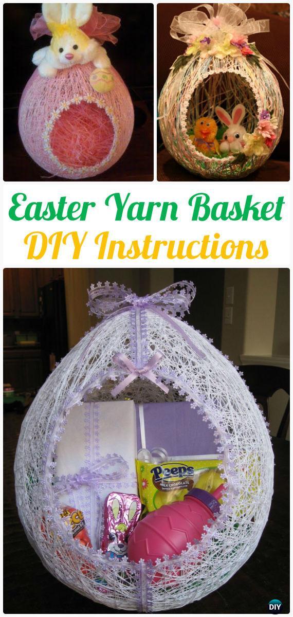 DIY Yarn Crafts Ideas Projects No Crochet