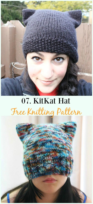 free cat knitting patterns # 35