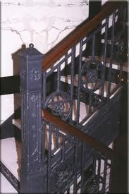 Concrete and Cast Iron Staircase Designs