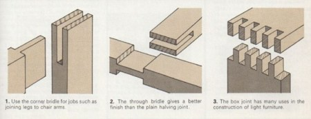 bridle and box joints