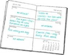 keep a diary about your asthma