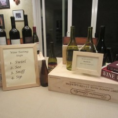 Wine Bottle Themed Kitchen Decor Sinks Lowes Tasting Party - Diy Inspired