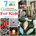Diy christmas ornaments for kids diy inspired