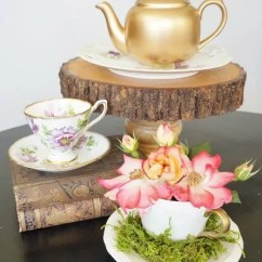 Decorating Chair For Baby Shower Power Wheel Upcycled Thrift Store Teapots - Diy Inspired