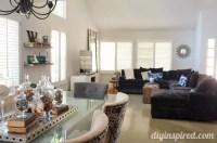 Living Room Makeover Reveal - DIY Inspired