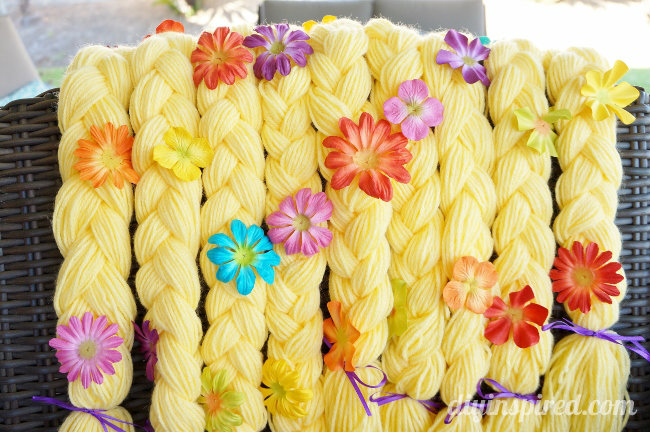 DIY Rapunzel Braid Party Favors DIY Inspired