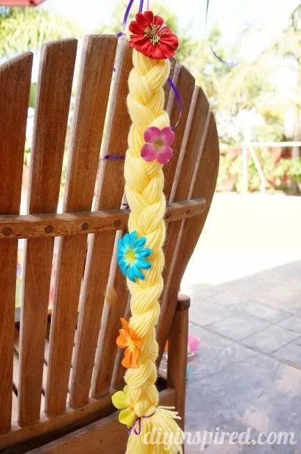 DIY Rapunzel Braid Party Favors DIY Inspired
