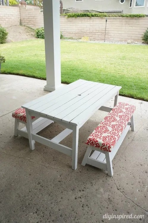 Kids Picnic Table Makeover from DIY Inspired