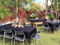 Scary Outdoor Halloween Party Decorating Ideas - DIY Inspired